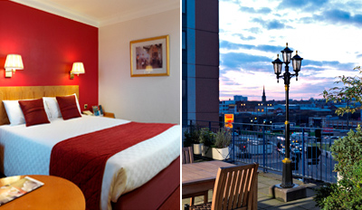 £79 -- Central Birmingham Stay w/Wine & Shopping, Save £55