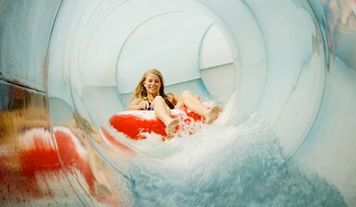 $15 - Day Pass to Water Park of America w/Pizza, 65% Off