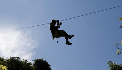 $49 -- Treetop Zip-Line Adventure at Kersey Valley, 45% Off