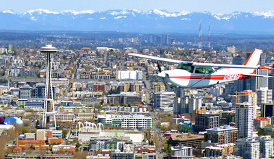 $99 -- Downtown Scenic Flight Tour for 2, 55% Off