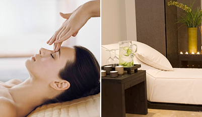 $49 - Top Flatiron Spa: Massage or Facial w/Wine, Reg. $145