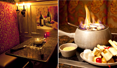 $45 - Fabulous 4-Course Fondue Dinner for 2, Reg. $106