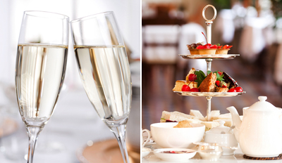 £35 - Champagne Afternoon Tea for 2 in 5-Star West End Hotel