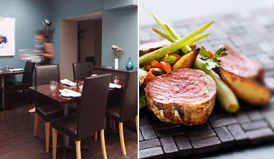 £30 - 3-Course Dinner for 2 from Award-Winning Chef, Reg £71