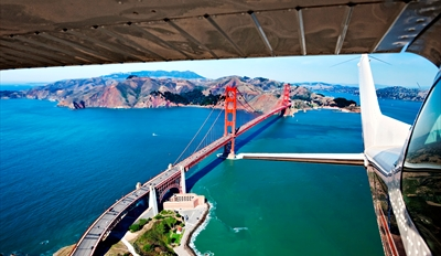 $149 - Scenic Flying Lesson over SF Bay, Reg. $298