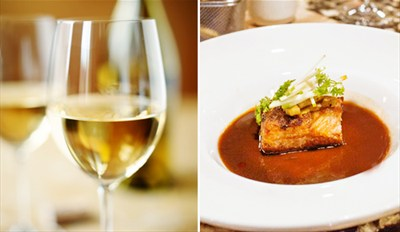 $29 - Acclaimed Aria: Small Plates & Wine for 2, Reg. $60