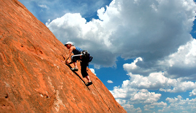 $55 - Guided Outdoor Rock-Climbing Adventure, Reg. $180