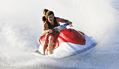 $150 - 16-Mile Jet Ski Tour & Beach Day for 4, Reg. $300