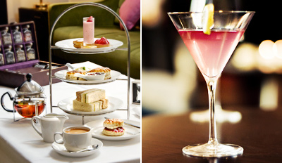 £35 -- West End: Afternoon Tea & Cocktails for 2, Reg £59