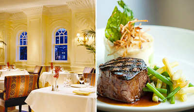 $55 - Zagat-Rated 'Excellent' Steak Dinner for 2, Reg. $108