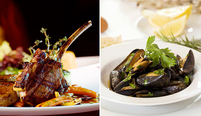 $45 - River North: 'Excellent' French Dinner for 2, Reg. $93