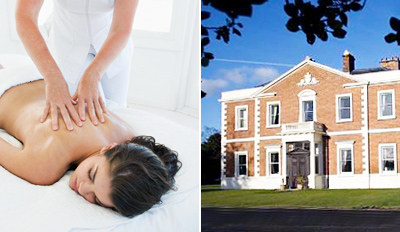 £45 -- Top Chester Spa: Massage or Facial w/Bubbly, Reg £90