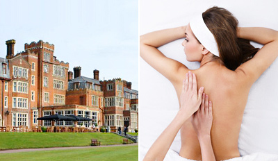 £39 - Surrey: Country Spa Day with Massage & Facial, Reg £97