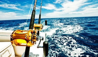 $25 - Deep Sea Fishing w/Lunch: Daytime or Sunset, Reg. $52