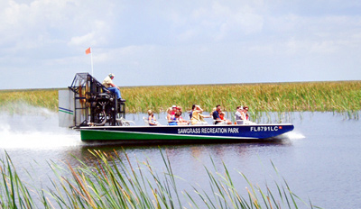 $20 - Everglades Airboat Ride for 2 w/Park Access, Reg. $40