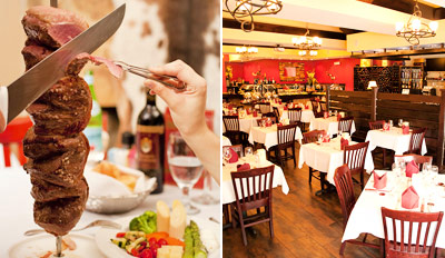 $39 - Unlimited Brazilian Steakhouse Dinner for 2, Reg. $76