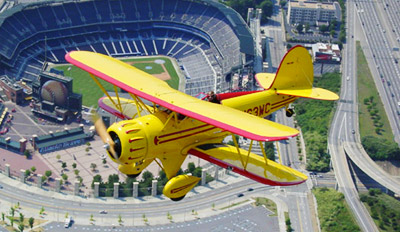$87 -- Scenic Biplane Tour in Restored 1930s Aircraft