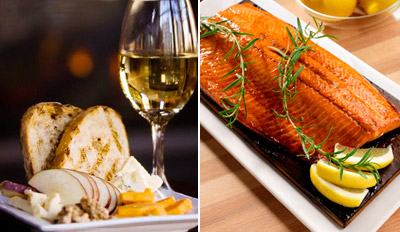 $39 - Acclaimed Riverfront Dinner for 2 w/Drinks, Reg. $85