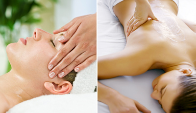 $69 - Custom Massage & Facial w/Wine, Reg. $145
