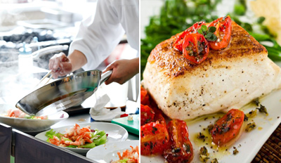 $29 - Zagat: Excellent Seafood for 2 at Sea Breeze, Reg. $60