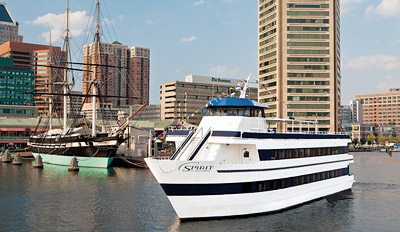$40 - Summer Cruise w/Dinner on the Inner Harbor, Reg. $81