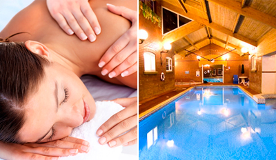 £39 -- Lakeside Spa Day inc Massage & Facial, Reg £79