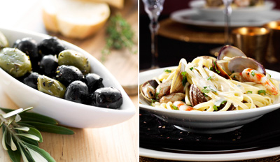 $45 - New Italian Bistro: Dinner for 2 w/Wine, Reg. $103