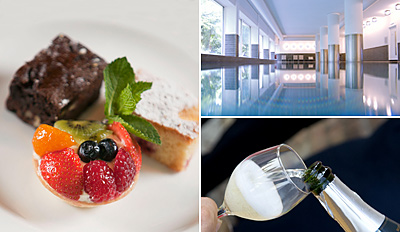 £35 -- Champagne Afternoon Tea & Spa Package for 2, Reg £84
