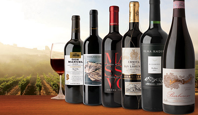 $29 - 6 Bottles of Premium Wine for Home Delivery, Reg. $94