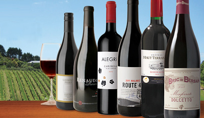 $29 - Virgin Wines: 6 Bottles for Home Delivery, Reg. $90