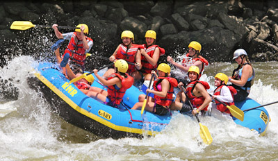 $125 - World's Top 10 River Rafting: 2-Night Trip, Reg. $204