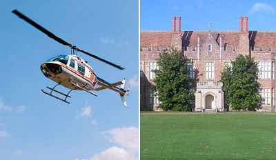£49 - Helicopter Tour of Country Estate & Cream Tea, Reg £99
