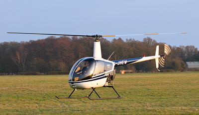 £139 -- Private Helicopter Lesson inc Lunch, Reg £349