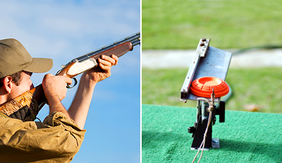 £39 -- Winter Clay Pigeon Shooting inc Mulled Wine, Reg £79