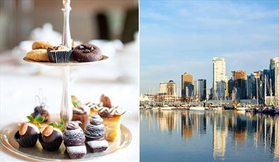 $45 -- High Tea Cruise on Vancouver Waterfront, Reg. $89