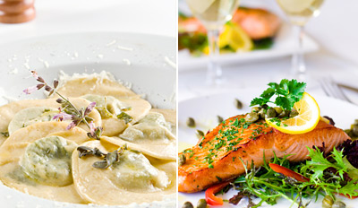 $35 - Bistro Dinner for 2 at LA Times Favorite, Reg. $78