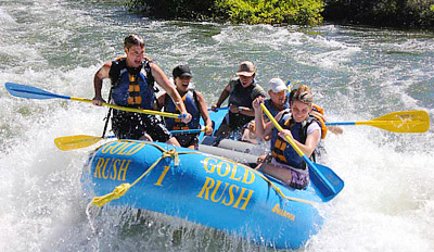 $59 - American River White-Water Rafting Trip, Reg. $118