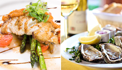 $35 - Stella's Fish Cafe: Lunch & Drinks for 2, Reg. $75