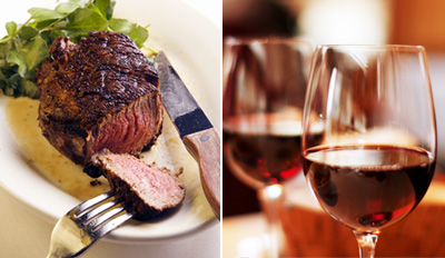 $59 - Frank's Steaks: Dinner for 2 w/Drinks, Reg. $122