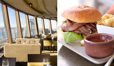 $29 - Top of Calgary Tower: 3-Course Lunch for 2, Reg. $65