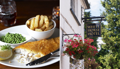 £29 - Georgian Country Pub: Dinner for 2 inc Bubbly, Reg £69