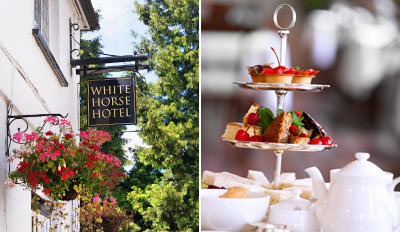 £15 -- Afternoon Tea for 2 w/Bubbly at Country Inn, Reg £37