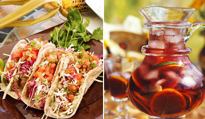 $25 - Mexican Dinner for 2 w/Sangria by the Beach, Reg. $58