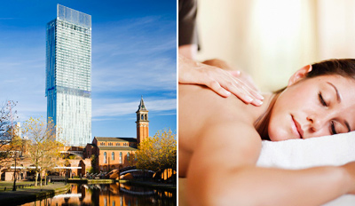 £39 -- Beetham Tower Spa Day w/Massage or Facial, Reg £75
