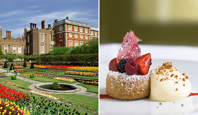 £13 -- Hampton Court Food Festival & Tastings for 2, Reg £30