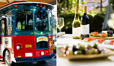 $59 - Temecula Trolley Wine Tour w/Alfresco Lunch, Half Off