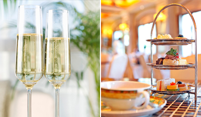 £25 -- Champagne Afternoon Tea for 2 off Oxford St, Reg £50