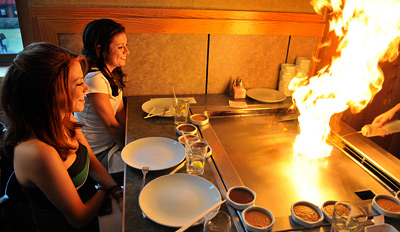 $49 - Hibachi Steak & Seafood Dinner for 2, Reg. $101