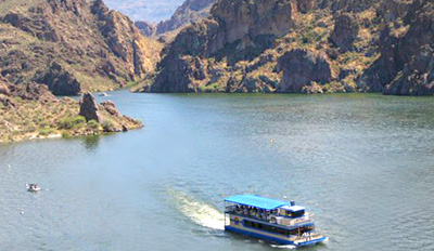 $25 - Saguaro Lake Nature Cruise for 2 w/Drinks, Reg. $48