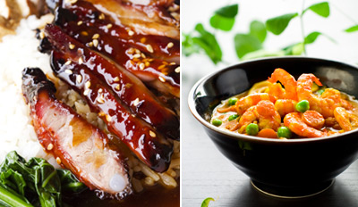 $49 - Asian/American Fusion Dinner for 2 w/Drinks, Reg. $101